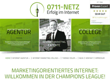 Tablet Preview of 0711-netz.de